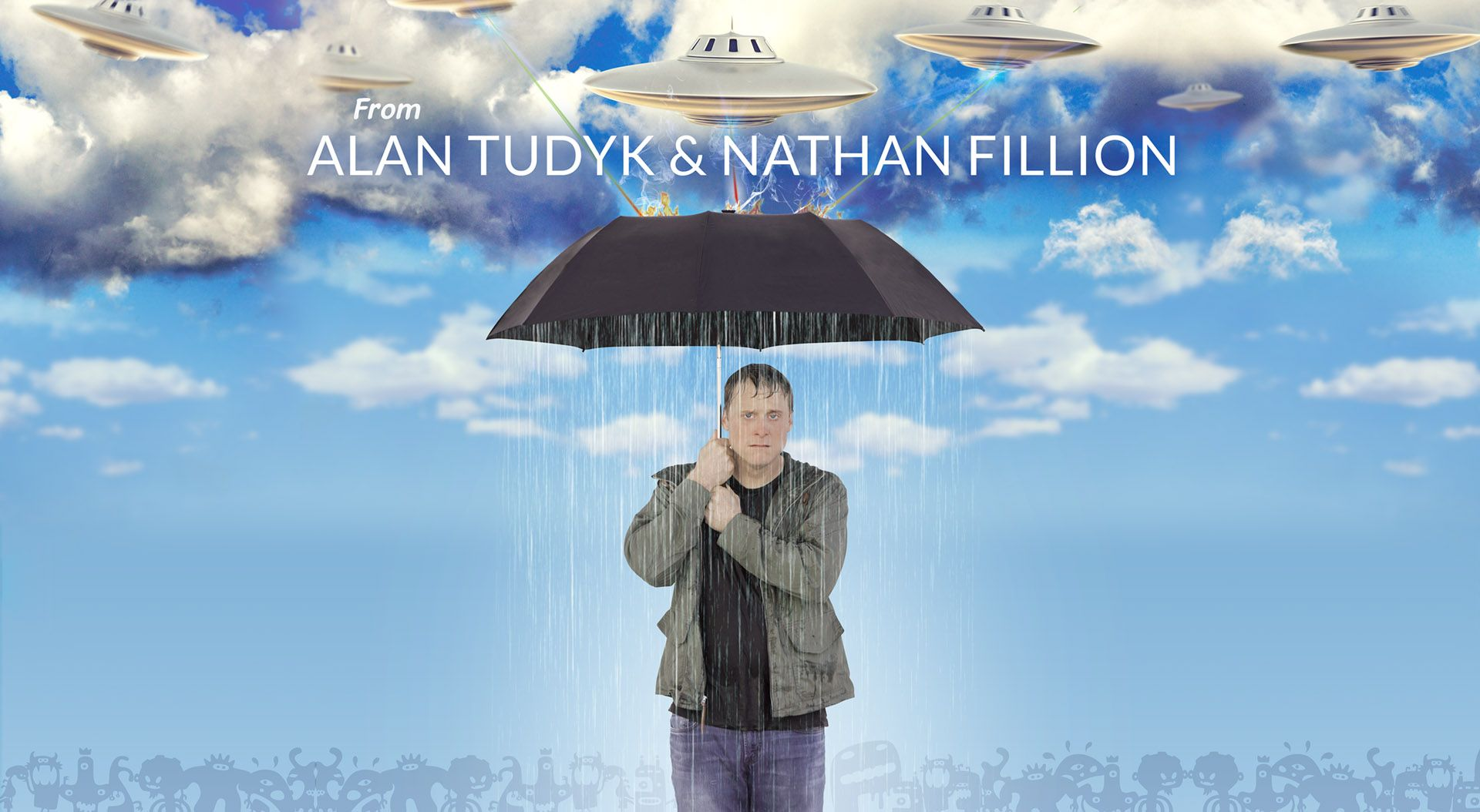 A hilarious series from Alan Tudyk and Nathan Fillion.